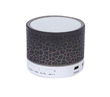 LED Light Mini Bluetooth Speaker - Black and White