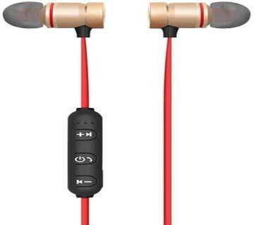 Stereo Super Bass Wireless Bluetooth Earphone - Black