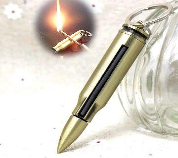 Bullet Styled Waterproof Kerosene Lighter with Key ring