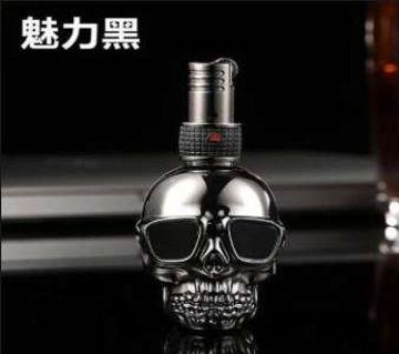 Jobon Ghost fire lighter,gas inflatable lighter, creative skull, blue flame cigarette lighter, gift for mens lighter no box