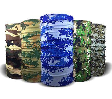 5 Pcs Half Face Handkerchief Multicolor - RANDOM