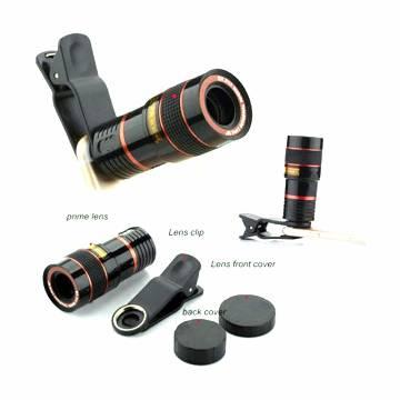 8X Zoom Telescope Telephoto Mobile Phone Camera Clip Lens