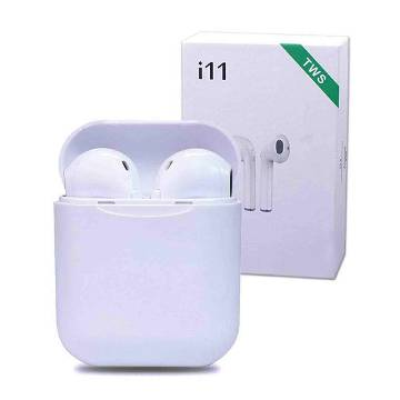 ORIGINAL i11S TWS Mini Wireless Earphones Bluetooth Earpieces Stereo Earbud Headset With Charging Box-White