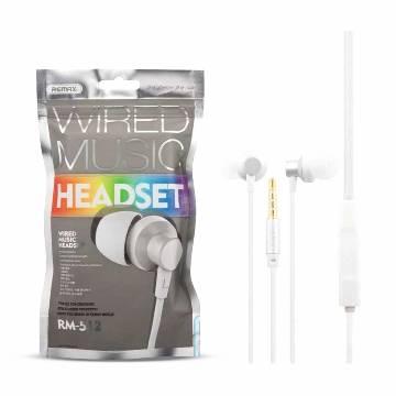 Rm 512 In Ear Headphone-White