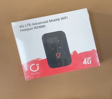 4G LTE advanced mobile wifi hotspot WD680