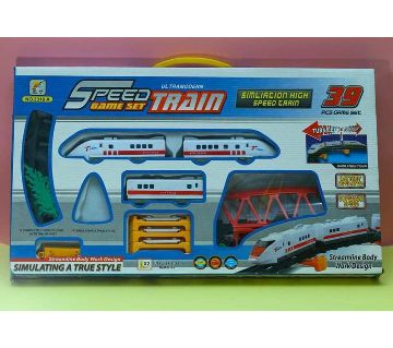 39 Pcs Battery Operated Big Size Simulation Bullet Train