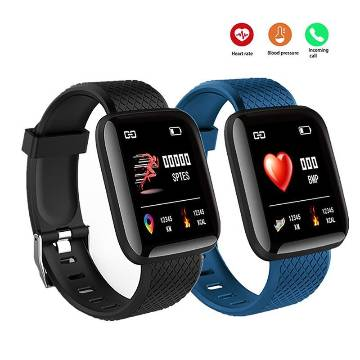 116 Plus Waterproof Smart Sports watch Bracelets & Fitness Tracker