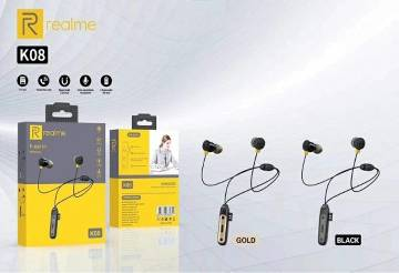 Realme k08 wireless earphone with Memory card slot