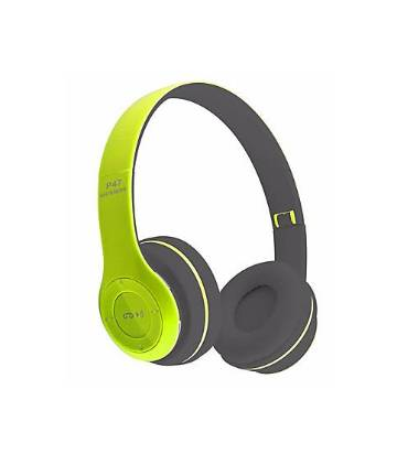 P47 - Wireless Bluetooth Headphone - GREEN