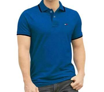 Light Blue Polo T-Shirt For Men