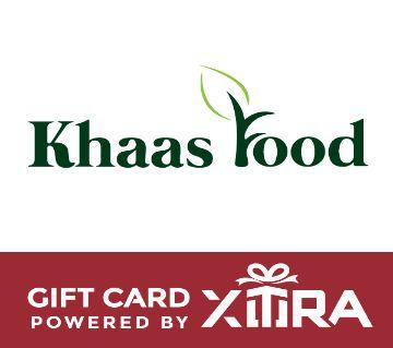 Khaasfood  BDT 1000 Gift Card