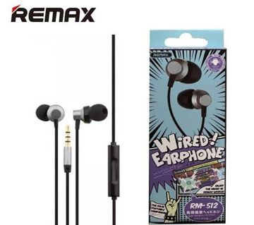 Remax 512 Earphone