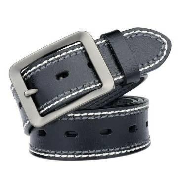 Genuine Leather Belt - Black