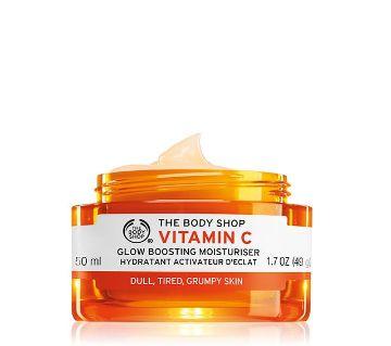 The Body Shop Vitamin C Glow Boosting Moisturiser  50ml UK