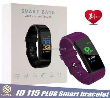 ID115 Plus Smart Bracelet Fitness Tracker  WLB