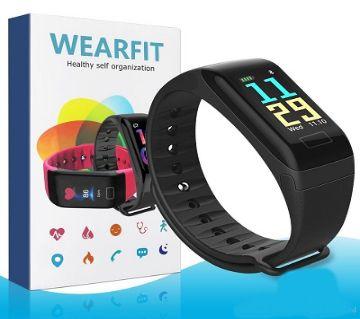 F1 plus Smart Band Color Screen Smart Wristband  WBL
