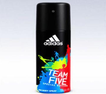 Adidas Team Five Ltd Edition Deo Spray-150 ml- France