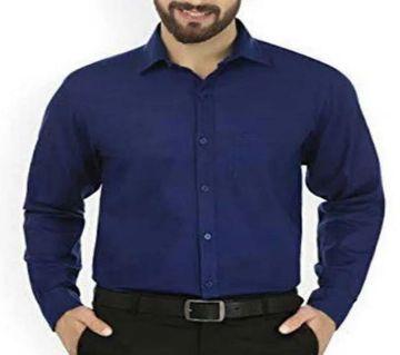 Navy Blue Shirt For Man