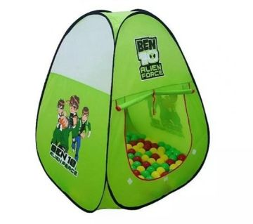 Home Foldable Kids Play Tent House -Multi Color
