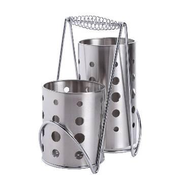 Multifunction Stainless Steel Chopsticks Cage Spoons Cutlery Storage Box Holder Drain Rack kitchen Accessories