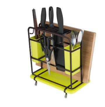 Flat Iron Multi-Function Knife Holder