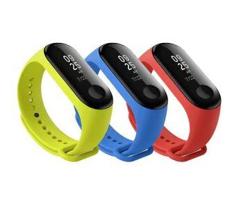 Push Type Bracelet LED Watch 1Pc