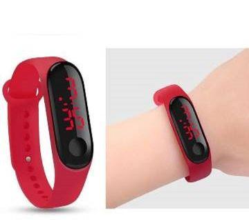 Push Type Bracelet LED Red