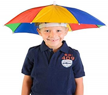 Head Umbrella Hat for Kids and Adults