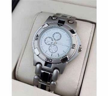 Gents Wrist Watch-Silver