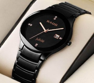 Rado Analog Wrist Watch for Men-Black Copy