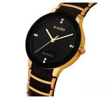 Rado Watch for Men-Black and Golden Copy
