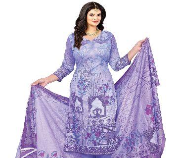 Pakiza Khadi Unstitched Cotton Salwar Kameez For Women. (3863-C)