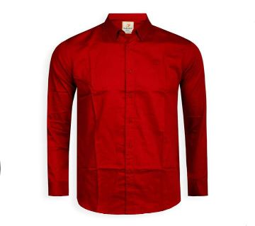 Full Sleeve Solid Color Shirt For Men  - Cod 303