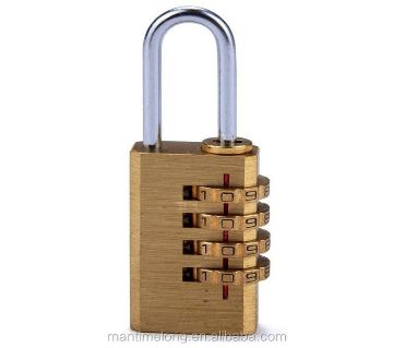 Number Lock 4 Digit Combination Copper pad Lock For Smart Security