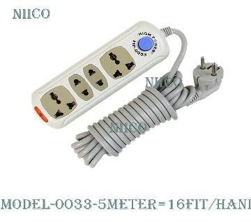 Multiplug 4 port Socket HP-0033-5 Meter=16Fit/Hand