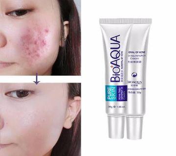Bioaqua Pure Skin Acne Removal Cream 30 g China