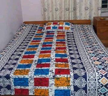 King Size Cotton Bedsheets Multi Color