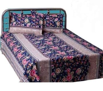 King Size Cotton Bedsheets Rose