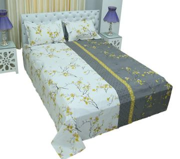 King Size Cotton Bedsheets White