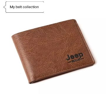 Jeep Brown Artificial Leather wallet for men
