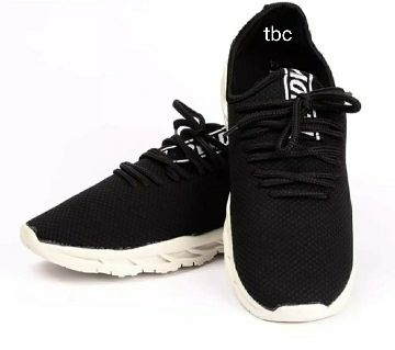 Sneakers for Man Fabrics Shoes with High Lace up Design and Rubber Material Soul