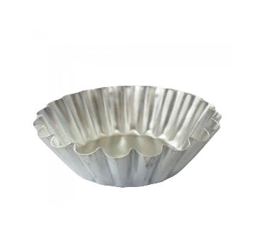 7 cm Egg Tart Molds,Reusable Baking Tinplate Round Muffin Cups Cake Cookie Mold for Baking 12 pcs