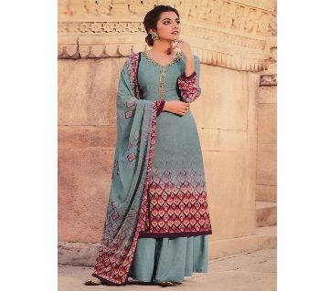 Indian Catalogue Unstitched three-piece