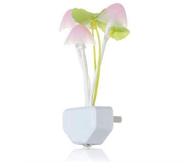 Mushroom Led Light Night Lamp Wall Light with In Bulit Sensor