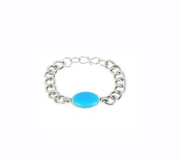 Blue and Silver Salman Khan Bracelet for Men 24-J24