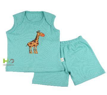 C Neck- Baby T Shirt Set Sleeveless
