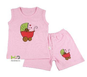 Tank top- Baby T shirt sleeveless Champagne Pink