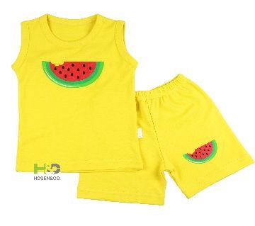 Tank top- Baby T shirt sleeveless Yellow