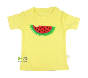 Cotton T-shirt for baby Yellow Watermelon