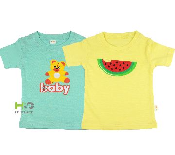 2Pcs Cotton T-shirt for baby Watermelon Baby